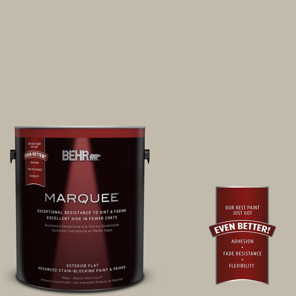 Home Decorators Collection 1-gal. #HDC-FL13-10 Wilderness Gray Flat Exterior Paint