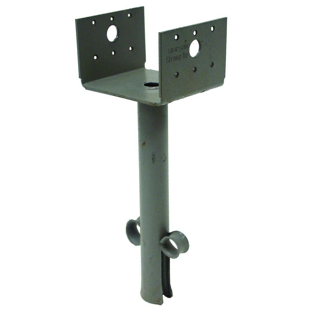 Simpson Strong Tie Aba 4x4 Zmax Galvanized Adjustable Post