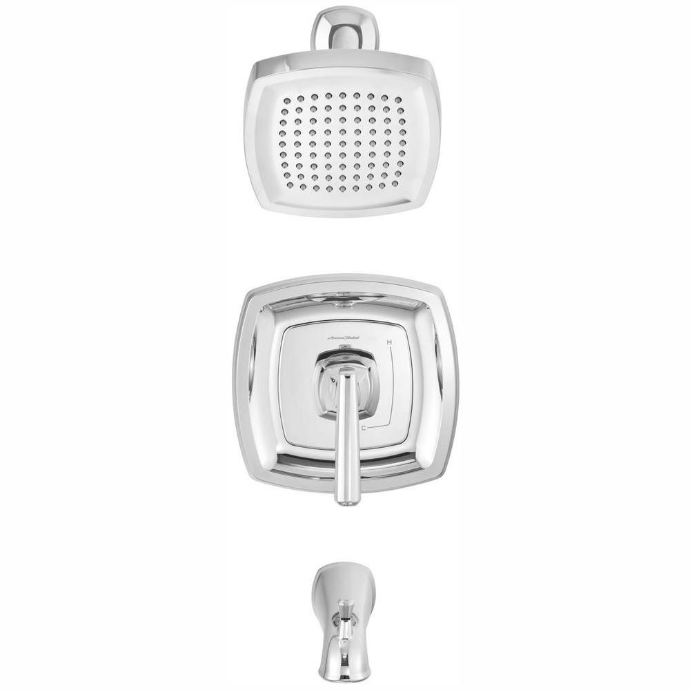 American Standard Edgemere 1 8 Gpm 1 Handle Tub And Shower