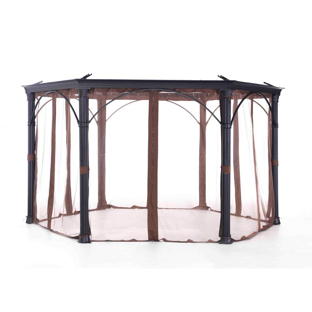 Sunjoy Universal Netting for Hexagonal Gazebos