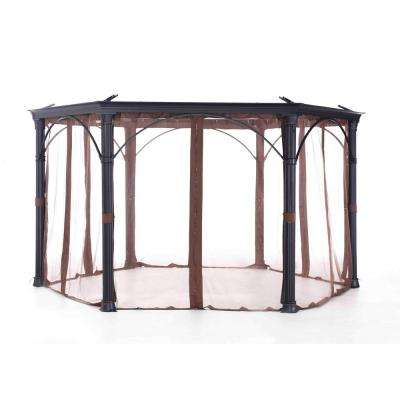 Universal Netting for Hexagonal Gazebos