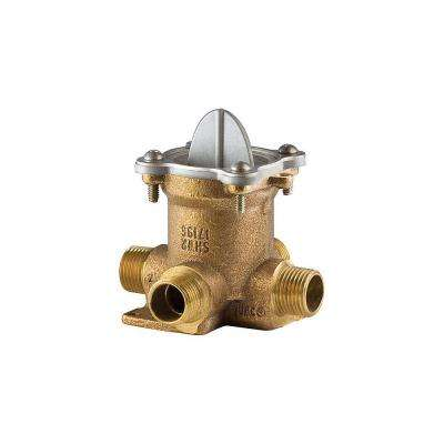 0X8 Series Tub/Shower Rough Valve Less Stops