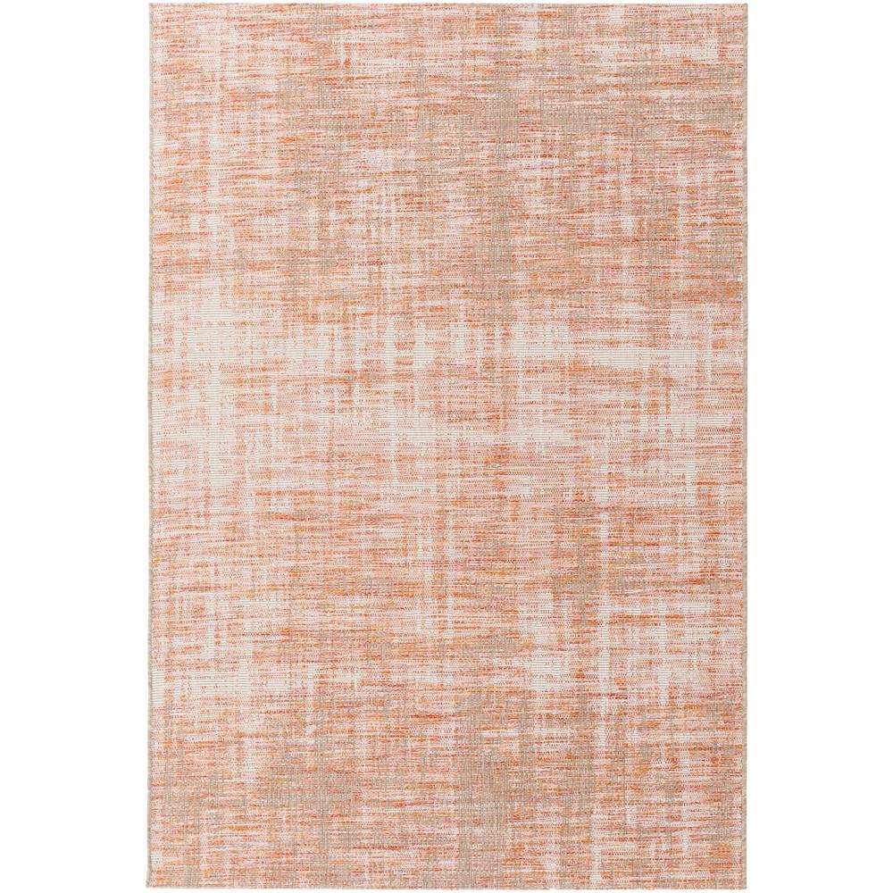 Evonne Burnt Orange 8 ft. x 11 ft. Indoor/Outdoor Area Rug