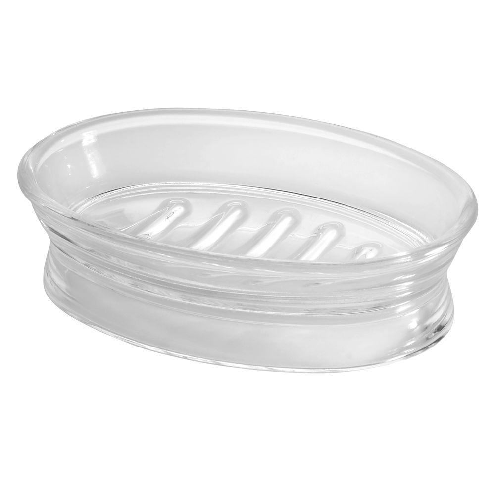 Franklin Countertop Soap Dish in Clear