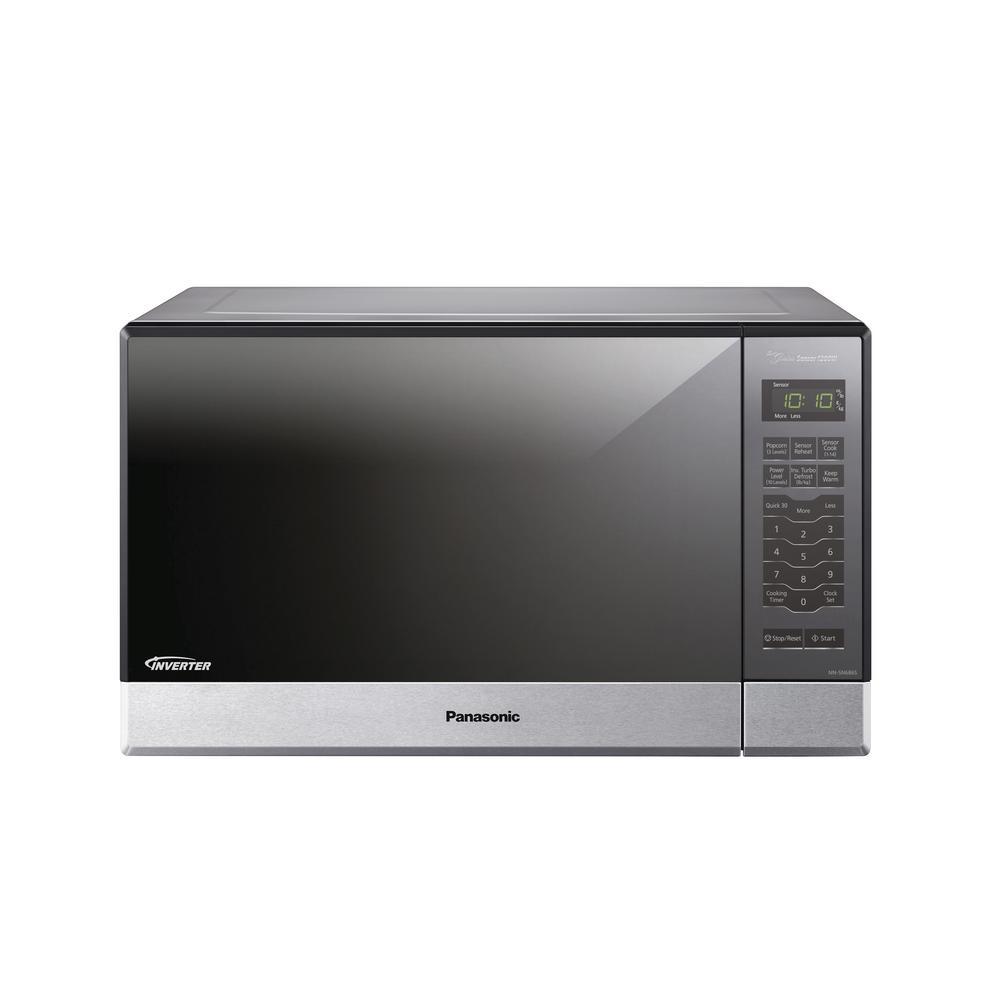 1.2 cu. ft. 1200-Watt Built-In/Countertop Microwave Oven in Stainless Steel
