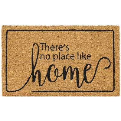 Dorothy 18 in. x 30 in. Printed Coir Door Mat