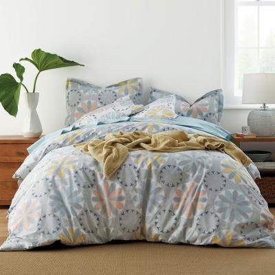 Whirligig LoftHome Cotton Percale Duvet Cover