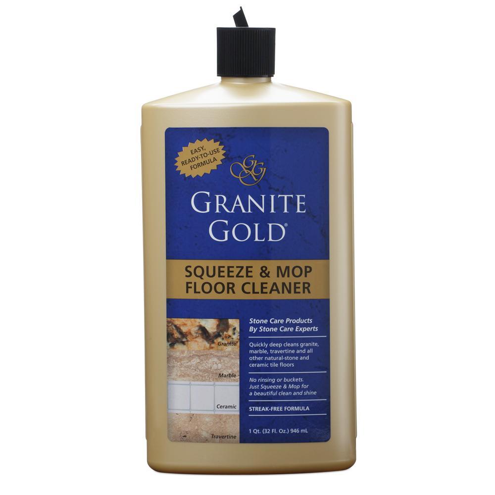 Granite Gold Squeeze & Mop Floor Cleaner, 32 Ounce