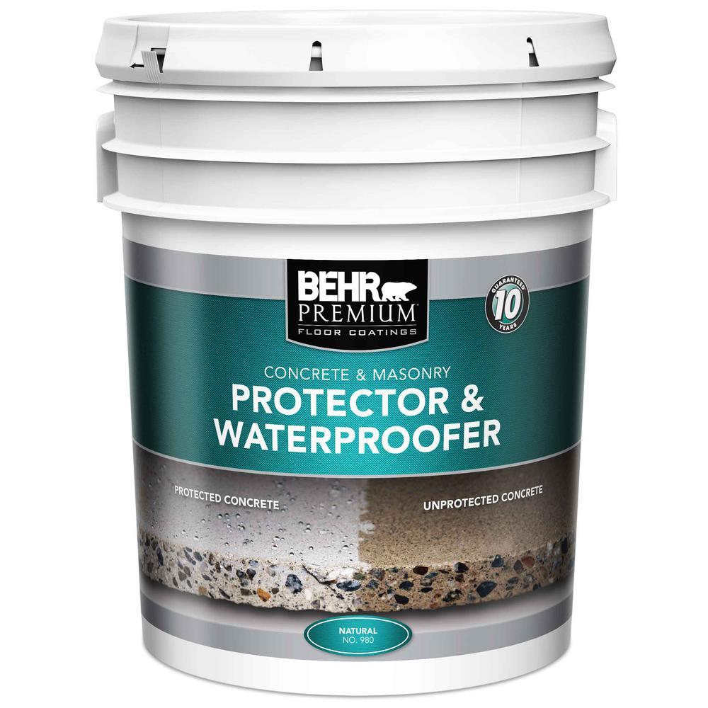 BEHR Premium 5 gal. Natural Protector and Waterproofer