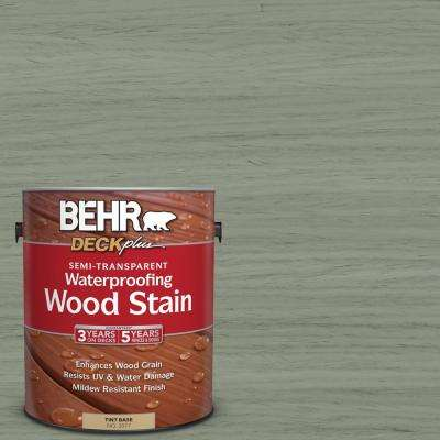 1 gal. #ST-143 Harbor Gray Semi-Transparent Waterproofing Wood Stain