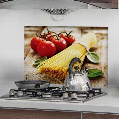18.5 in. x 25.6 in. Pasta Kitchen Panel Wall Decor