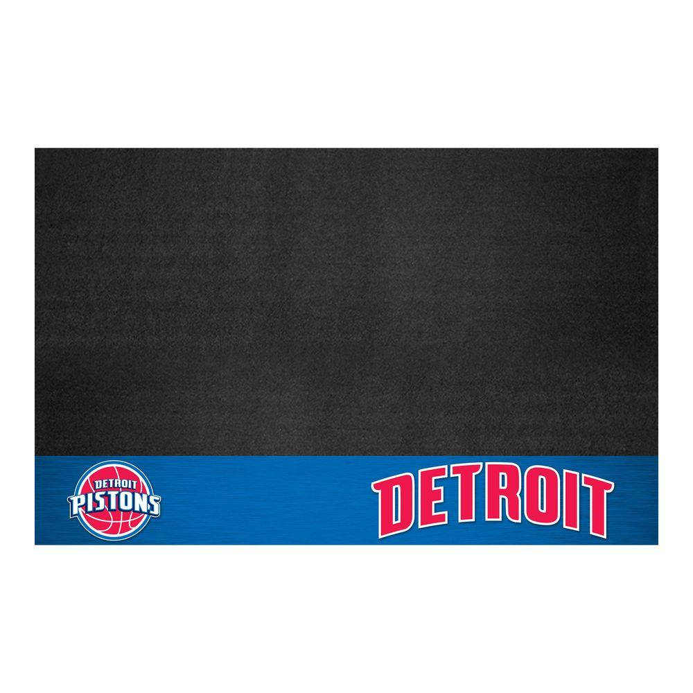 Detroit Pistons 26 in. x 42 in. Grill Mat