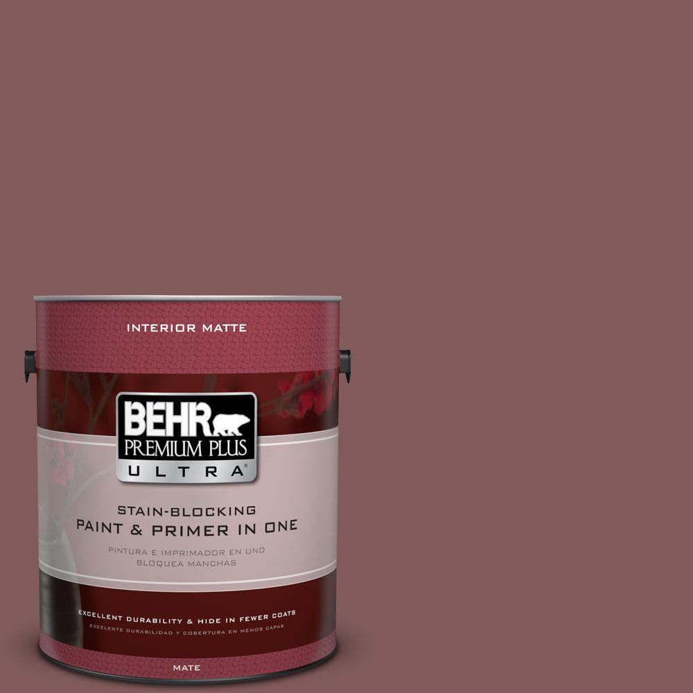 1 gal. #140F-6 Book Binder Flat/Matte Interior Paint