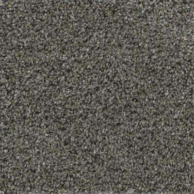 Soft Breath I - Color Cranbrook Texture 12 ft. Carpet