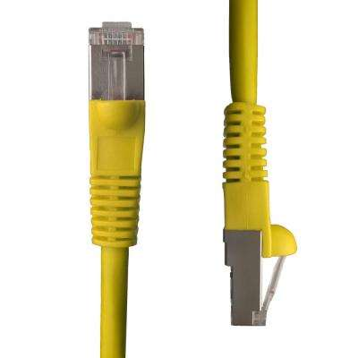 50 ft. Cat5e Snagless Shielded (STP) Network Patch Cable, Yellow