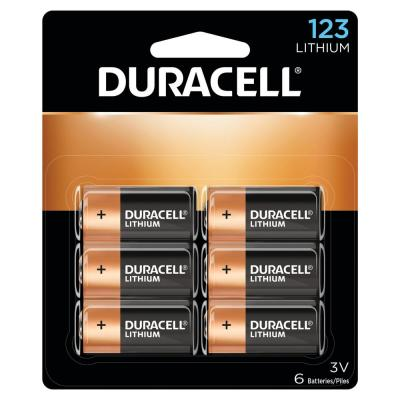 Copper and Black 123 Battery (6-Pack)