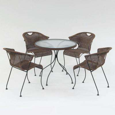 Wadebridge Round Metal Outdoor Dining Table