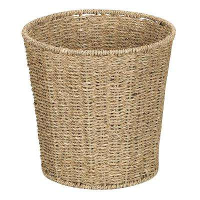 Natural Seagrass Waste Basket