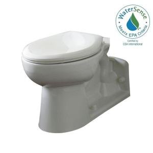American Standard Yorkville Elongated Pressure-Assisted Toilet Bowl Only in White by American Standard