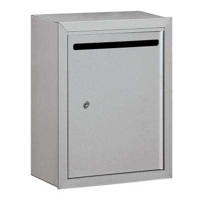 2240 Series Aluminum Private Standard Surface-Mounted Letter Box with Commercial Lock