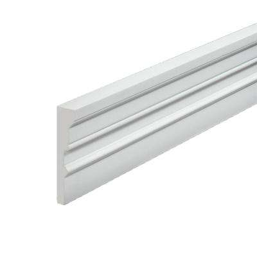 1-3/4 in. x 96 in. x 7 in. Polyurethane Window and Door Casing Moulding