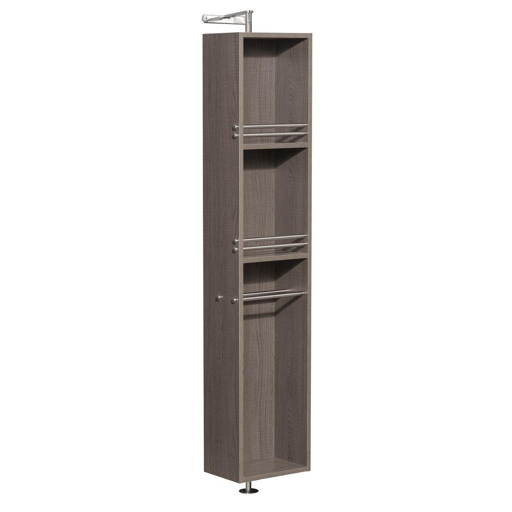 Wyndham Collection Amare 13-3/4 in. W x 73 in. H x 15 in. D Bathroom ...