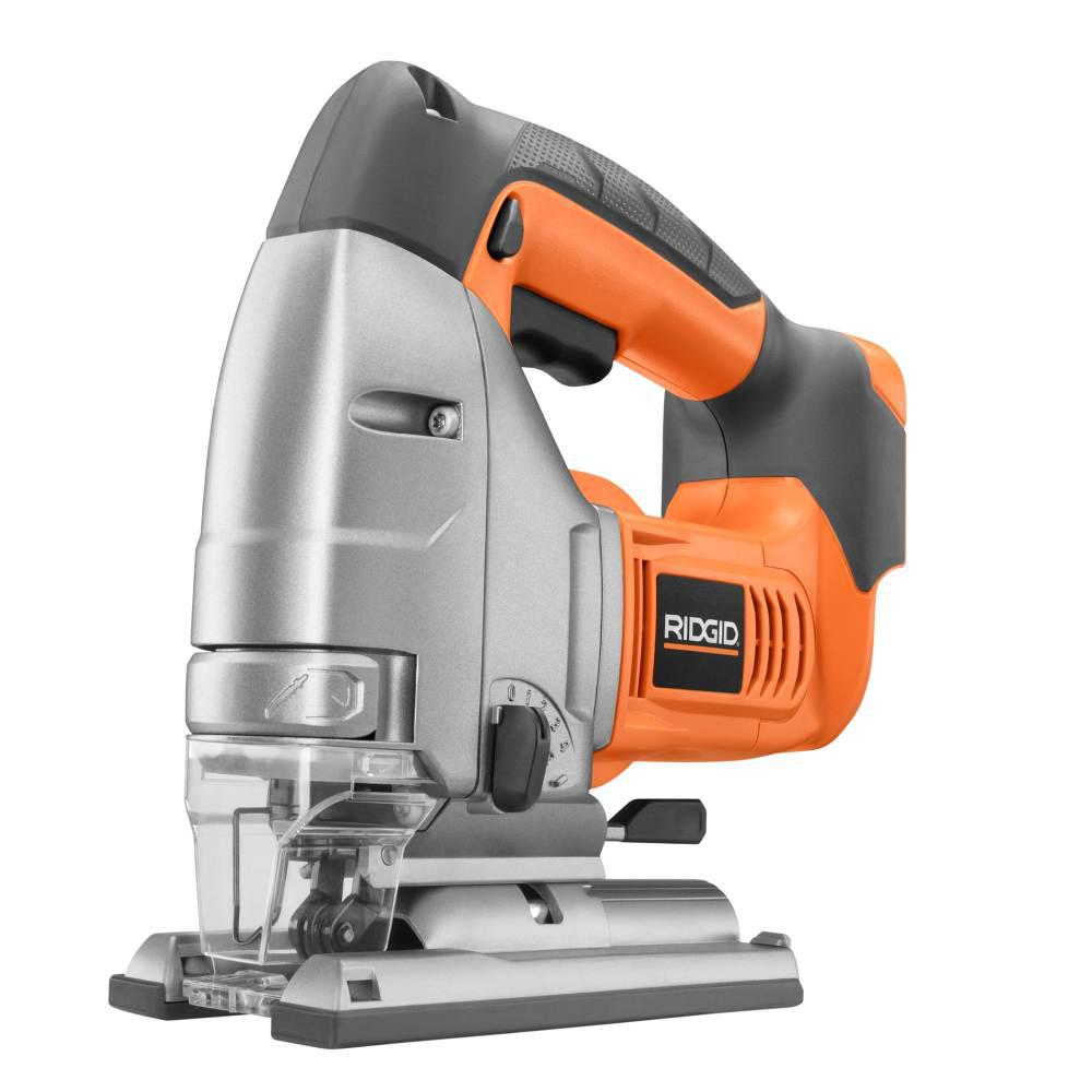 RIDGID 18-Volt Cordless Jig Saw Console (Tool Only)