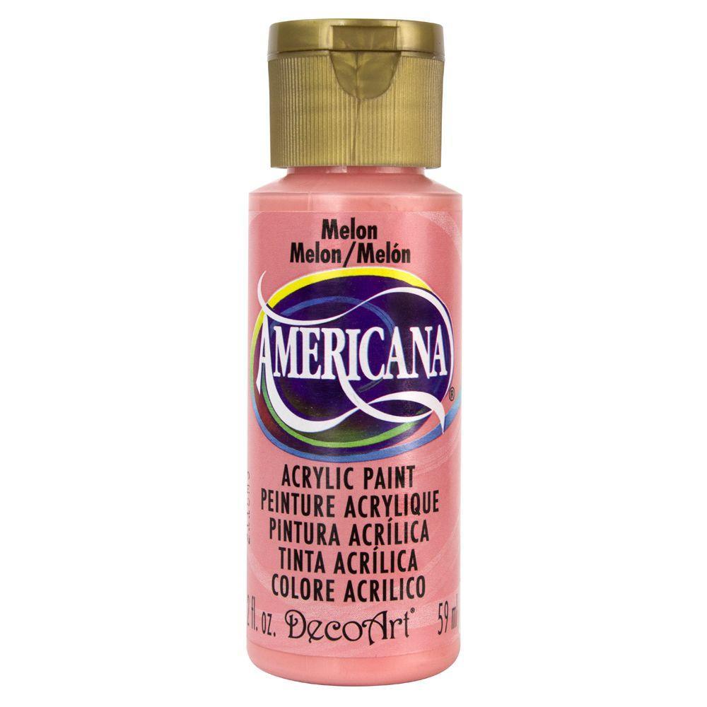 Americana 2 oz. Melon Acrylic Paint