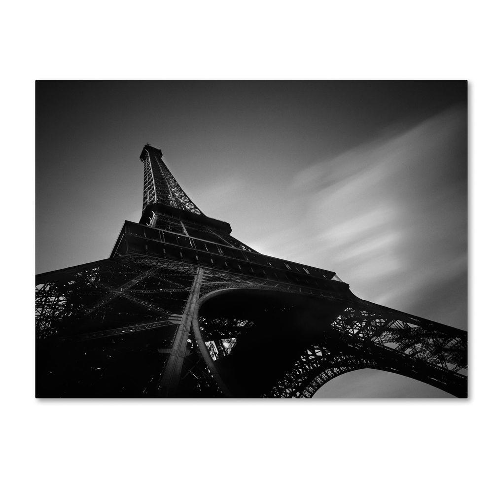 Trademark Fine Art 26 in. x 32 in. Eiffel 1 Canvas Art