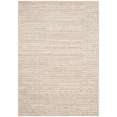 Vision Cream 4 ft. x 6 ft. Area Rug