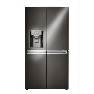 Click here to buy LG Electronics 22.7 cu. ft. French Door Refrigerator in Black Stainless Steel, Counter Depth, ENERGY STAR by LG Electronics.