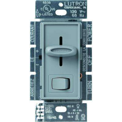 Skylark 150-Watt Single-Pole/3-Way CFL-LED Dimmer - Gray