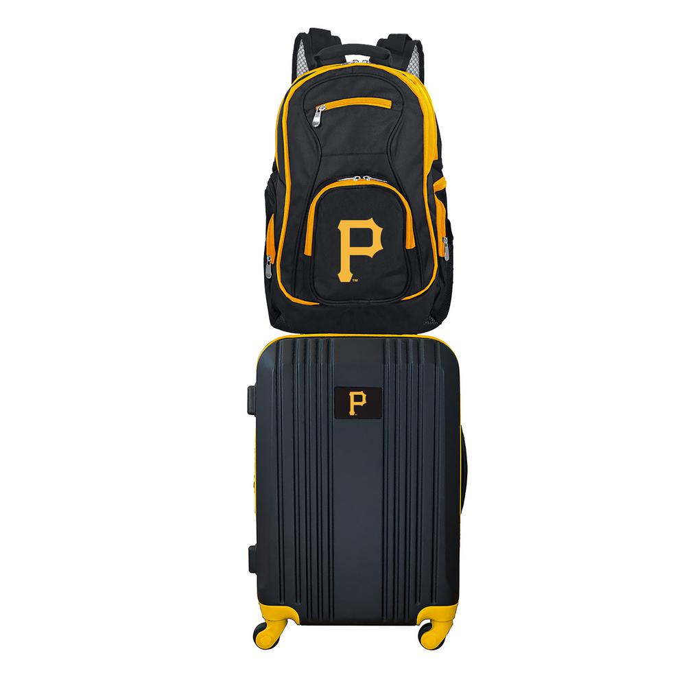 MLB Pittsburgh Pirates 2-Piece Set Luggage and Backpack