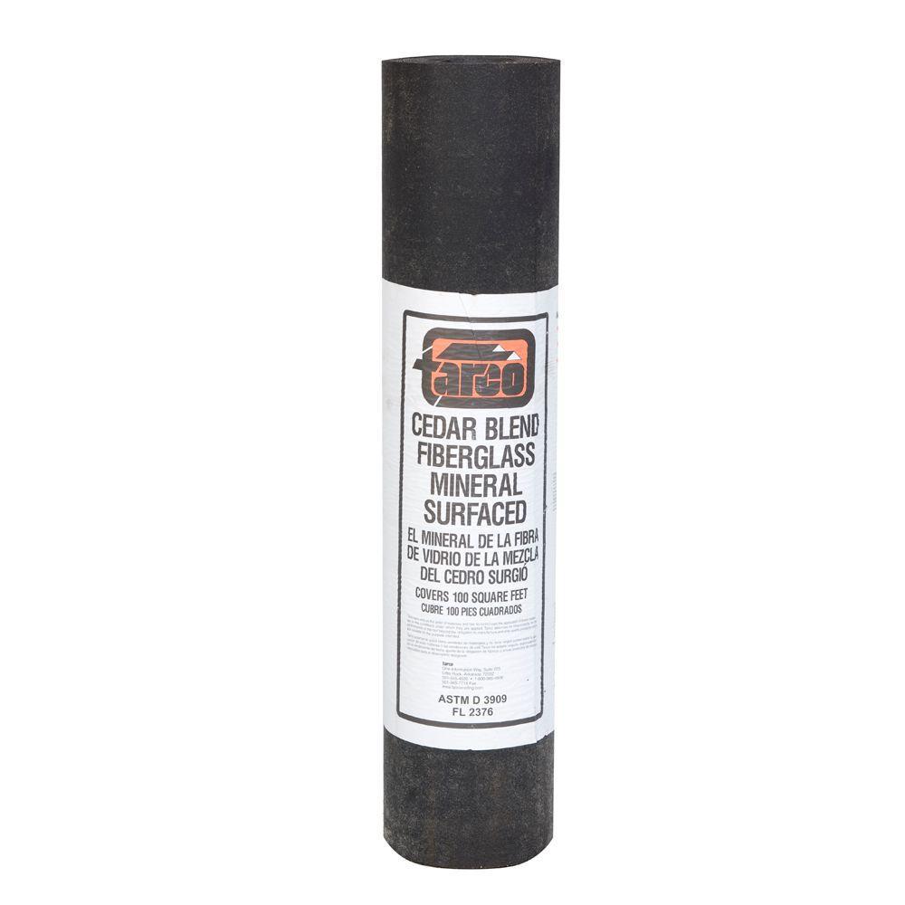 Tarco 3 Ft X 36 Ft 100 Sq Ft Coverage Cedar Blend