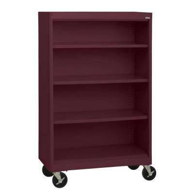 mobile home n steel compressed office bookcases sandusky furniture the depot red bookcase b