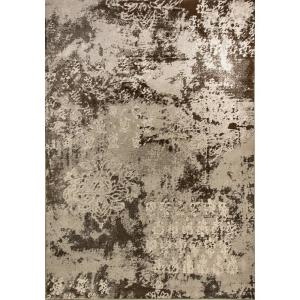 Dynamic Rugs Mysterio Light Silver 7 ft. 10 inch x 10 ft. 10 inch Indoor Area Rug by Dynamic Rugs