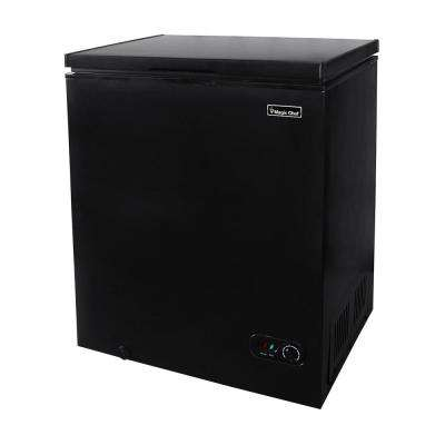 5.0 cu. ft. Chest Freezer in Black