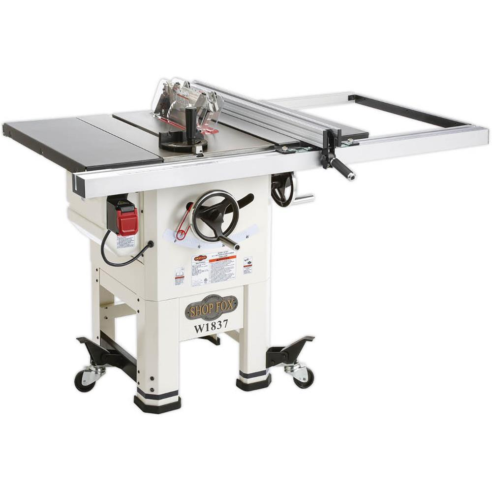 Shop Fox 10 in. 2 HP Open-Stand Hybrid Table Saw