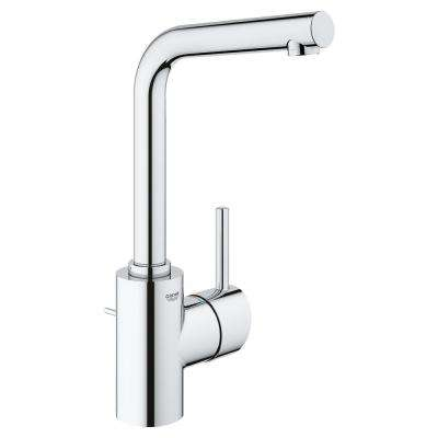 Concetto Single Hole Single-Handle Bathroom Faucet 1.2 GPM L-Size in StarLight Chrome