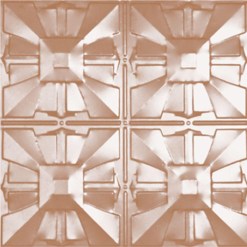 Shanko 2 Ft X 2 Ft Lay In Suspended Grid Tin Ceiling