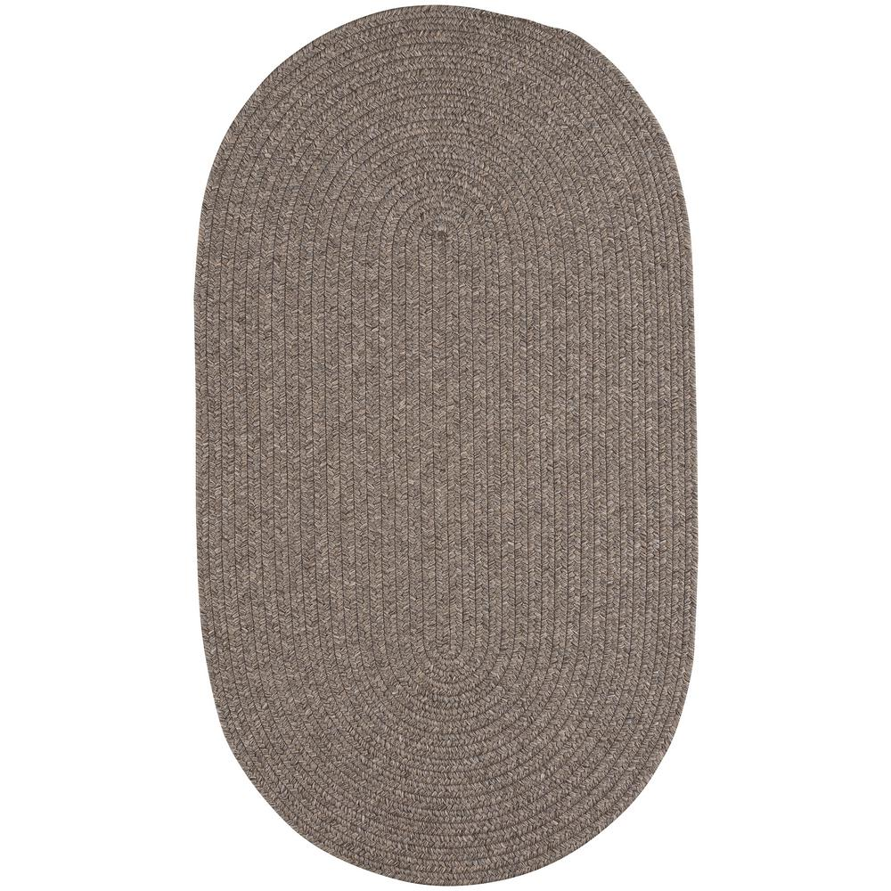 Capel candor chestnut 5 ft x 8 ft oval area rug for Accent rug vs area rug