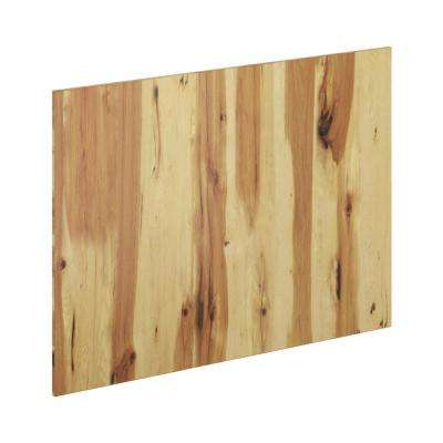 48 in. x 34.5 in. x 0.75 in. Island End Panel in Pure Hickory
