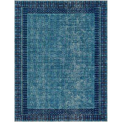 Tessera Blue 7 ft. 10 in. x 10 ft. 3 in. Indoor Area Rug