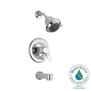 innovations 1handle tub and shower faucet trim kit in chrome valve not included