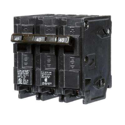 40 Amp Three-Pole Type MP Circuit Breaker