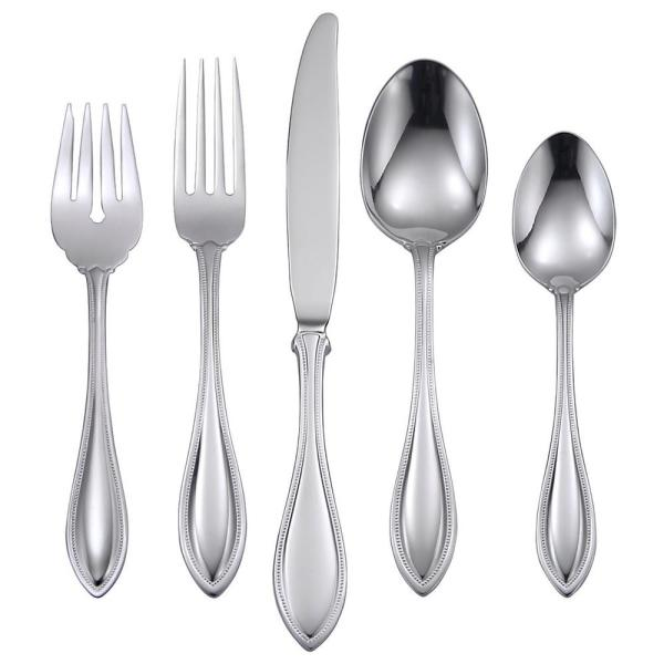 American Harmony 20-Piece Silver 18/0 Stainless Steel Flatware Set (Service for 4)