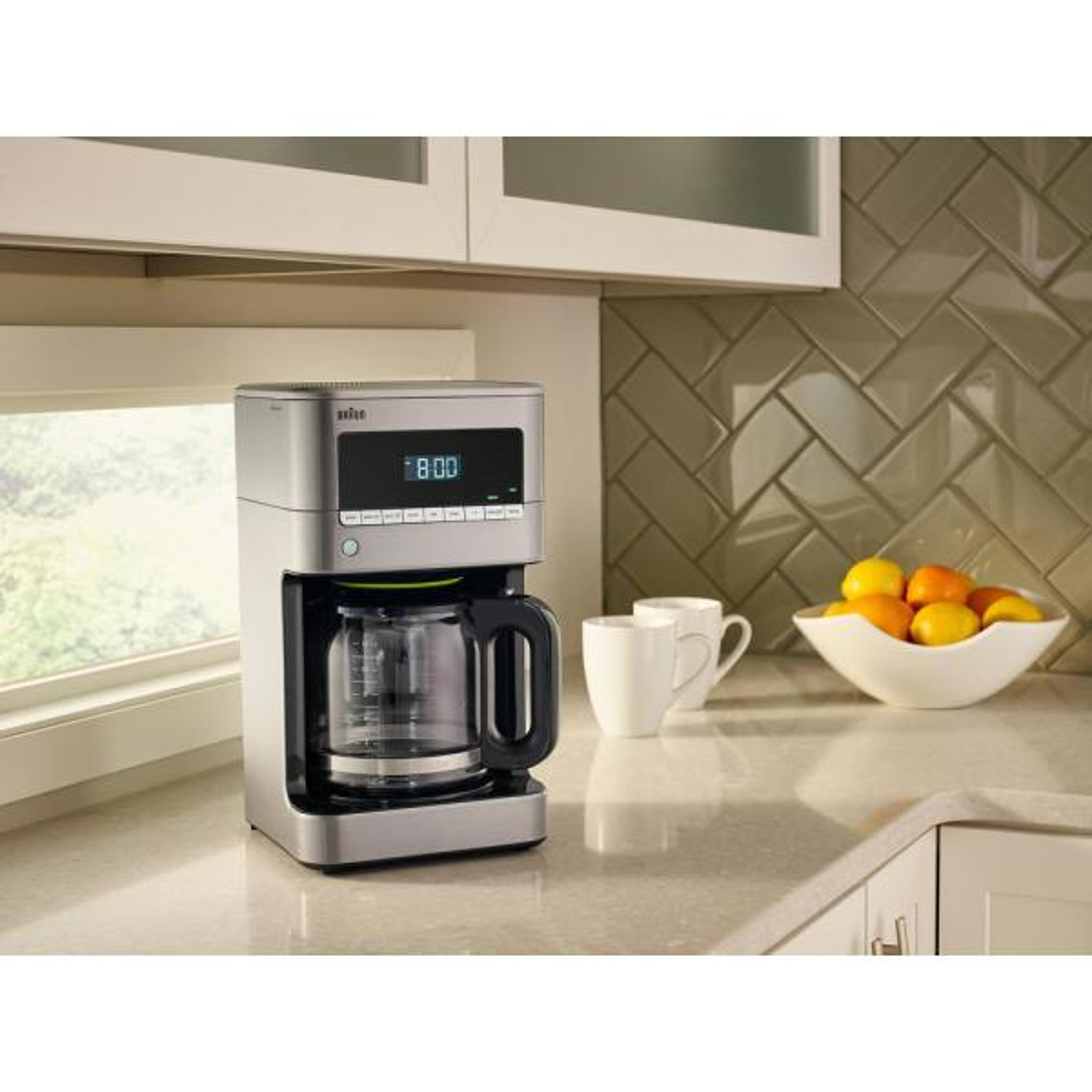 Braun KF7170 BrewSense 12-cup Drip Coffee Maker