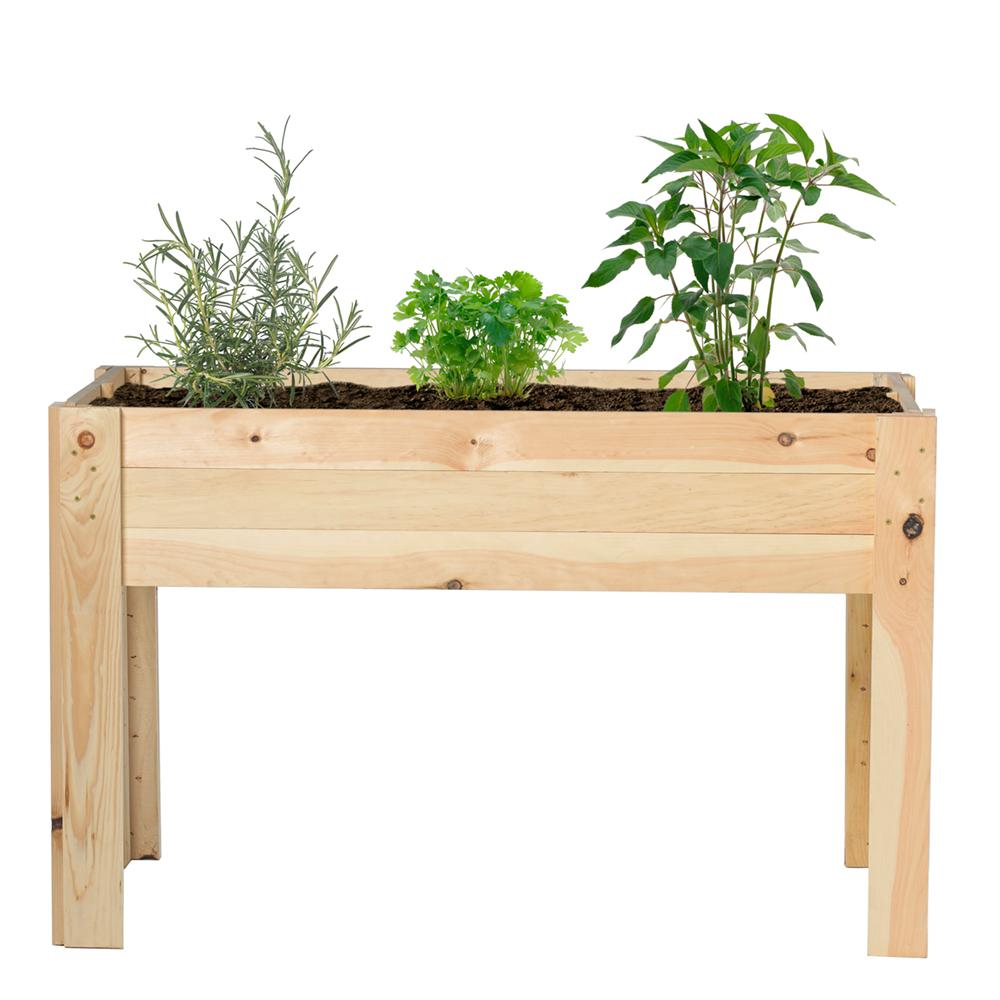 Outdoor Essentials 24 In. X 48 In. Raised Garden Bed Kit