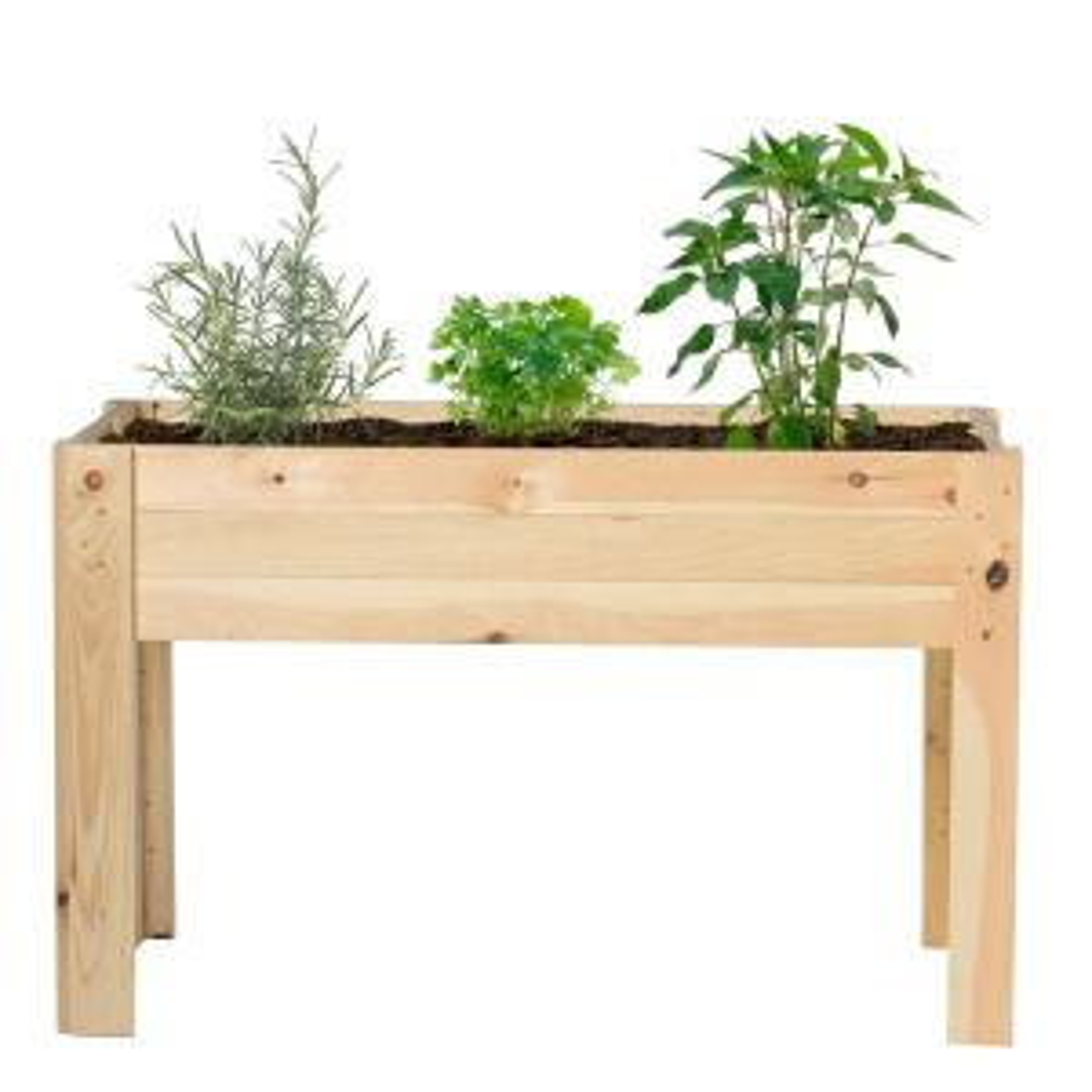 Outdoor Essentials 24 In X 48 In Raised Garden Bed Kit