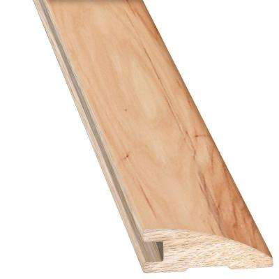 Vintage Hickory Natural 3/4 in. Thick x 2 in. Wide x 78 in. Length Hardwood Flush Mount Reducer Molding